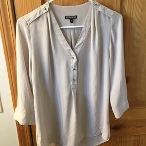 Express 3/4 length blouse